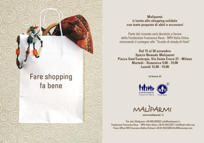 Malìparmi e Fondazione Rava nph Onlus per le scuole di Strada di Haiti