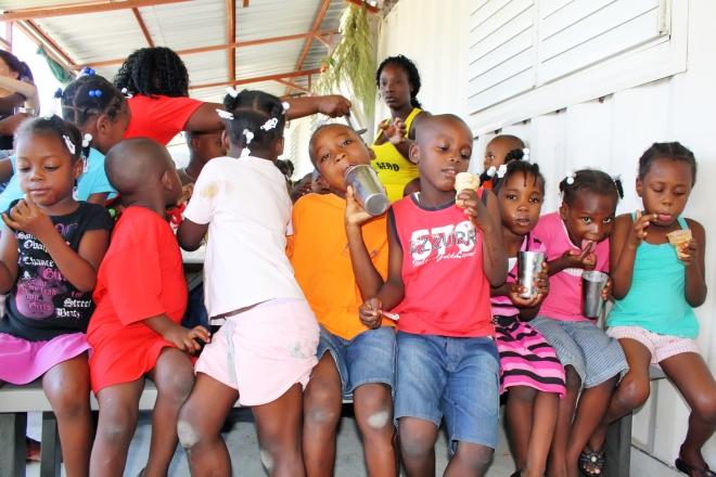 HAITI. PORT-AU-PRINCE. 24 dicembre 2013